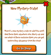 Animania Mystery Crate Popup