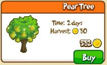 Pear tree shop
