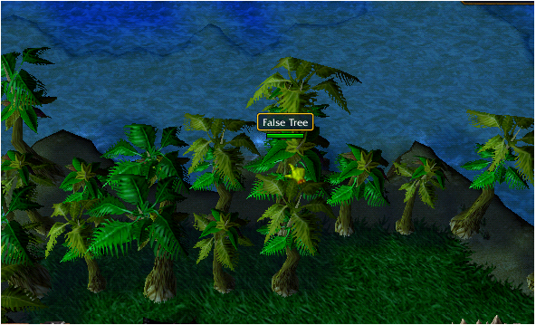 False Tree -3 (Very North in North East Island)