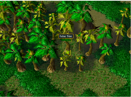 False Tree -2 ( North Wall Jungle in East Island