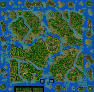 Map scout bushes
