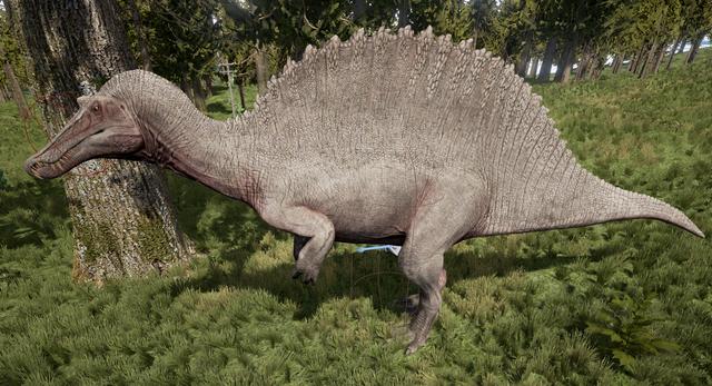 File:Albino Spinosaurus The Isle.png