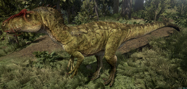 File:Green Allosaurus The Isle.png