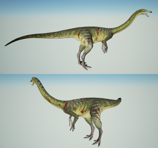 File:Wounded Gallimimus The Isle.png