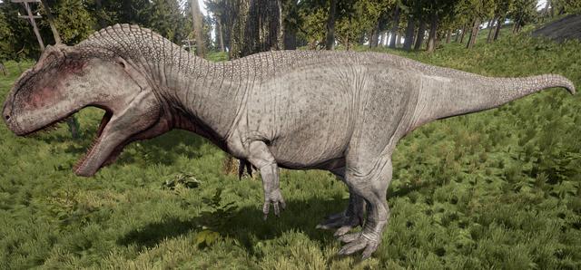 File:Albino Giganotosaurus The Isle.png