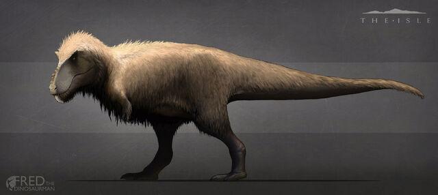 File:Feather Tyrannosaurus Rex Concept Art The Isle.jpg
