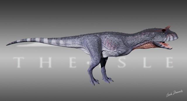 File:Carnotaurus Nightfall Skin The Isle.jpg