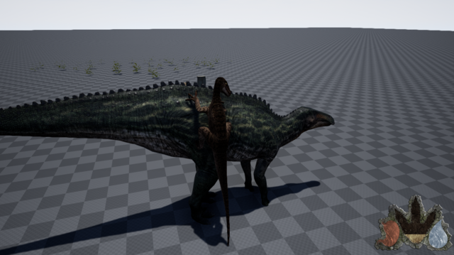File:Utahraptor Pounce Model Art The Isle.png