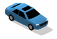 Blue Car 05