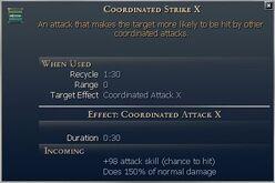 Coordinated Strike