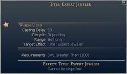 Title Expert Jeweler