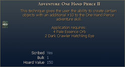 Adventure One Hand Pierce II