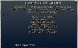 Bloodskulk Bloodmage's Hair