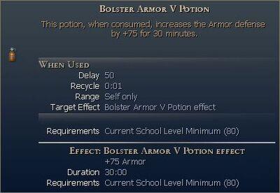 Bolster Armor Potion