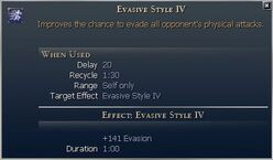 Evasive Style