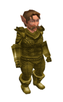 Light Khaki Mithril Chainmail Armor