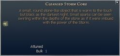 Cleansed Storm Core