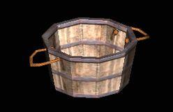 Basket of Laundry empty