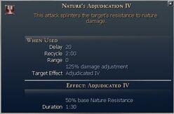 Nature's Adjudication