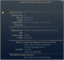 Damage Crystals (consumable)