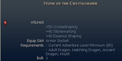 Stone of the crystalshaper