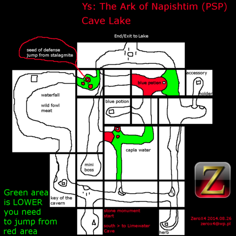 File:Ys - The Ark of Napishtim (PSP) Cave Lake.png