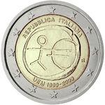 2€ commemorativo UEM 2009