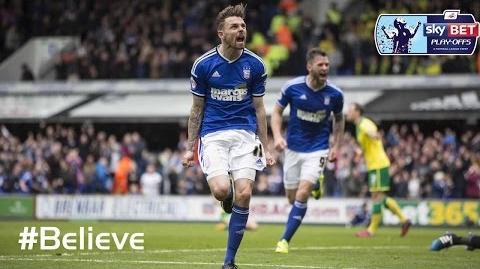 Ipswich 1-1 Norwich (2014-15 Play-Offs 1st leg)