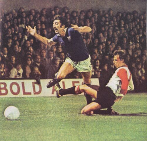 David Johnson vs Feyenoord