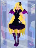 Top Designers Kim's Purple Spider Costume