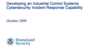 Recommended Practice: Developing an Industrial Control Systems Cybersecurity Incident Response Capability