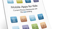 Mobile Apps for Kids: Current Privacy Disclosures are Disappointing