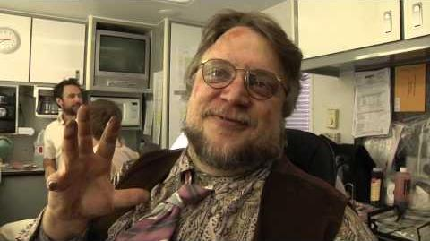 Sunny Behind the Scenes Guillermo del Toro as Pappy McPoyle