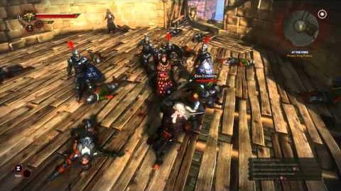 La Valette Castle Assault (The Witcher 2) HD