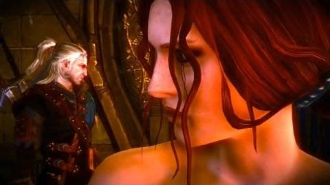 Geralt and Triss Elven Bath (Censored) (Witcher 2) Full HD
