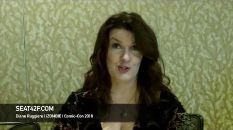 Diane Ruggiero iZOMBIE Interview Comic Con 2016