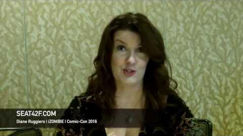 Diane Ruggiero iZOMBIE Interview Comic Con 2016