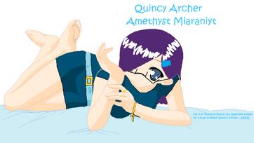 Quincy Archer Amethyst