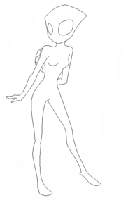 Female irken Base