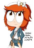 Amber Wafer