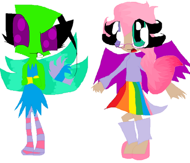 Pixie Kira and Leah