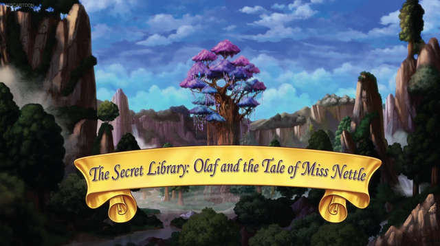 File:The Secret Library Olaf and the Tale of Miss Nettle title card.png
