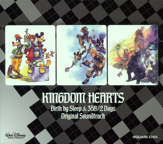 File:Kingdom Hearts Birth By Sleep and 358-2 Days Original Soundtrack cover.jpg