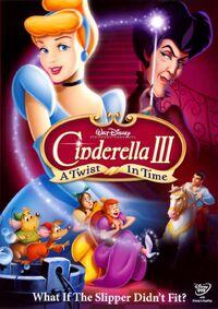 Cinderella 3 A Twist in Time DVD