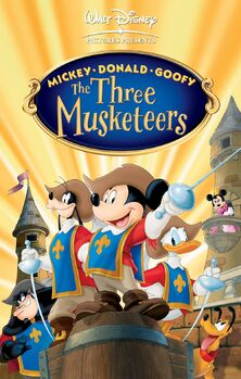 Mickey Donald and Goofy The Three Musketeers