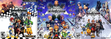 Kingdom Hearts HD Art Covers