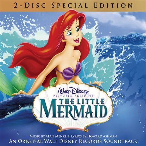 File:The Little Mermaid Special Edition soundtrack cover.jpg