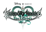 Kingdom Hearts χ Back Cover logo
