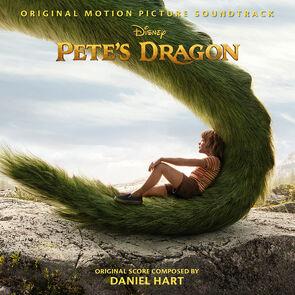 Pete's Dragon 2016 Soundtrack cover