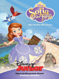Sofia the First Once Upon A Princess poster
